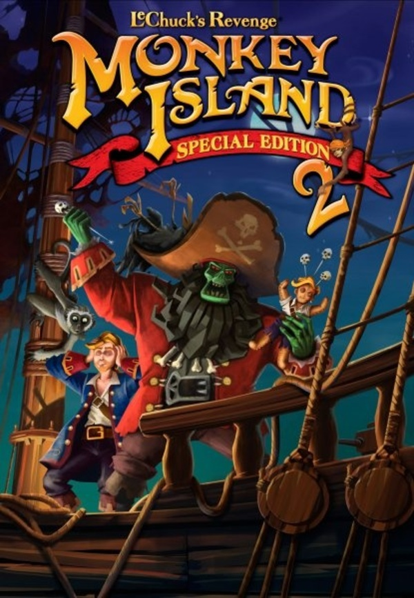 Cover zu Monkey Island 2: Special Edition