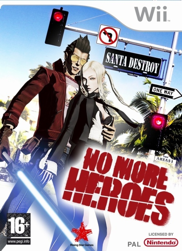 Cover zu No More Heroes