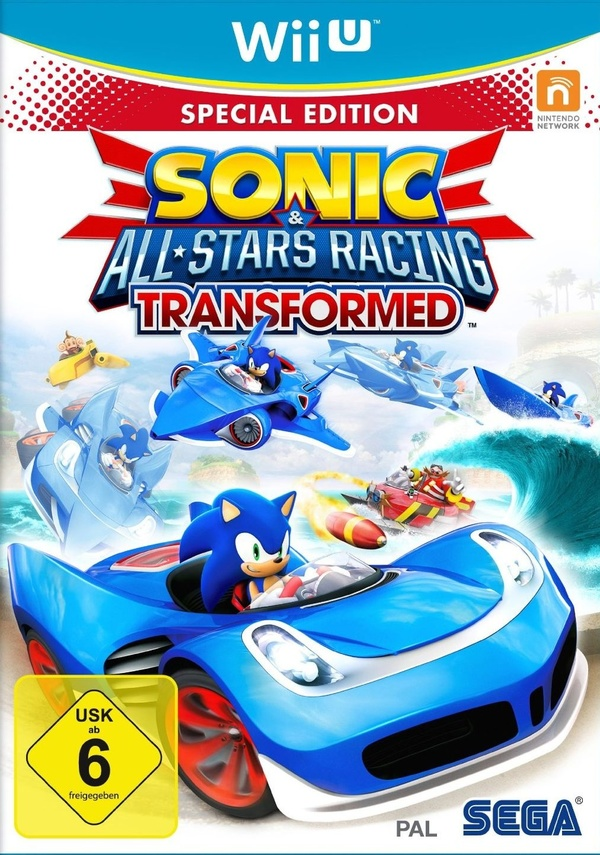 Cover zu Sonic & All-Stars Racing: Transformed