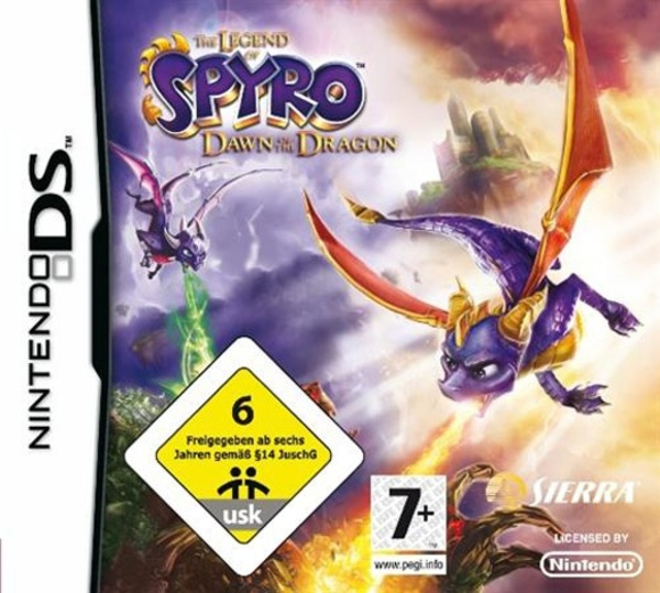 Cover zu The Legend of Spyro: Dawn of the Dragon