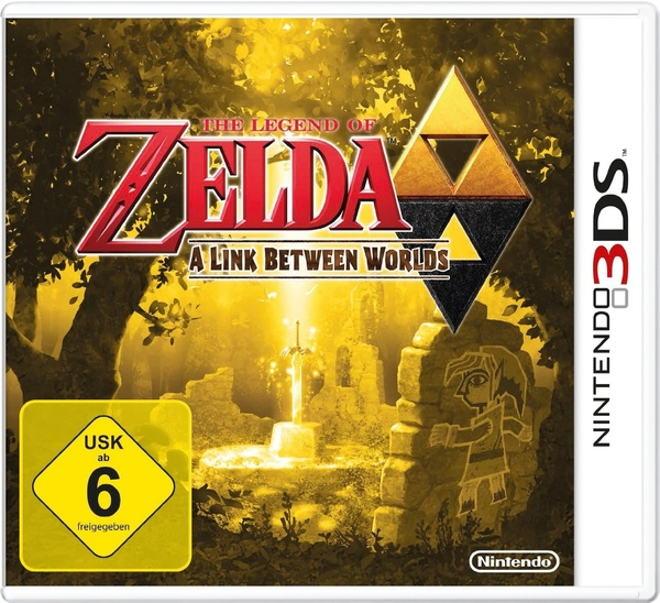 Cover zu The Legend of Zelda: A Link Between Worlds