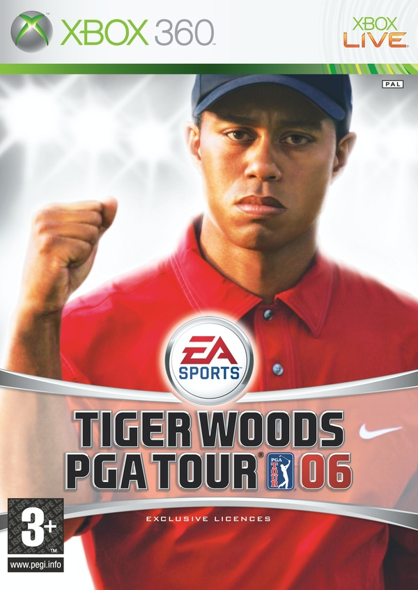 Cover zu Tiger Woods PGA Tour 06