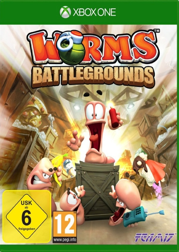 Cover zu Worms Battlegrounds