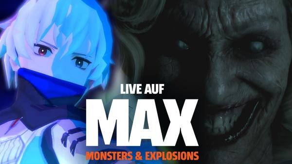 GamePro Live auf MAX - Wir spielen Man of Medan