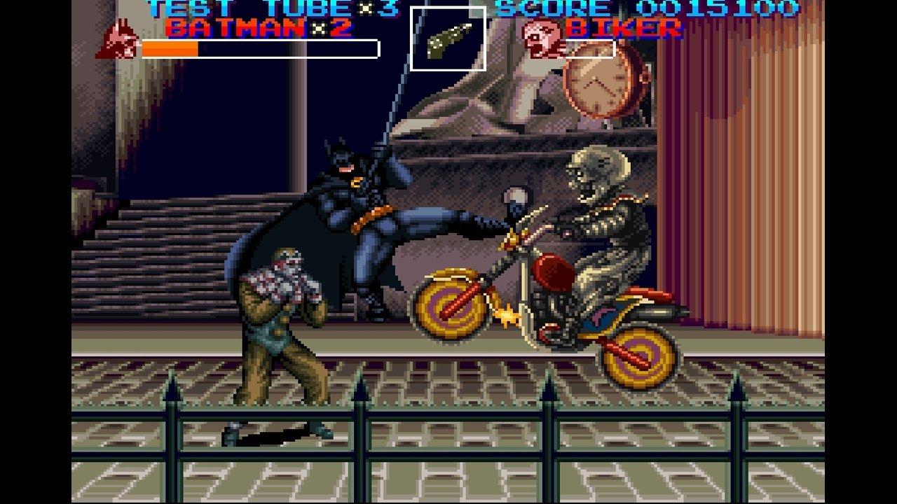 Batman und Catwoman haken auf