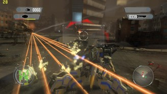 <b>Front Mission Evolved</b><br/>Screenshots aus der Test-Version von Front Mission Evolved für PC.