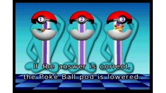 My money's on the invisible Goldeen in Pokéball 2