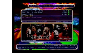 <b>Retro Hall of Fame: Amplitude</b><br>Die Amplitude-Songs decken ein breites Spektrum ab: Von seichtem Pop über Rap bis zu Metal-Bands wie Slipknots ist für jeden Geschmack etwas dabei.