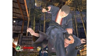 Tesshu the doctor is about to puncture this Ronin in the new single player Samurai Mansion stage.