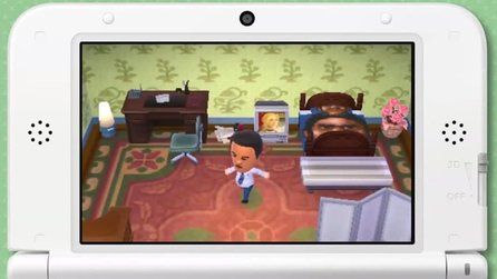 Animal Crossing: New Leaf - Gameplay-Trailer: Hausführung mit Reggie