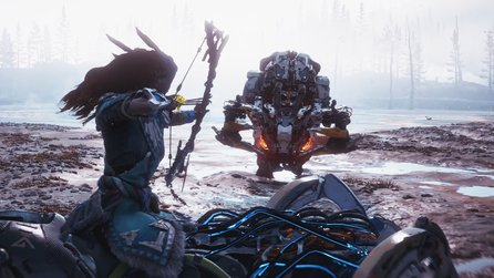 Horizon Zero Dawn: The Frozen Wilds - Gameplay-Trailer zeigt Aloy auf der Jagd im Eis