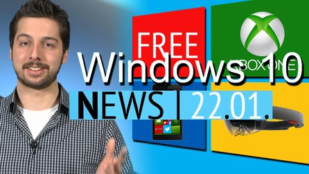 News - Donnerstag, 22. Januar 2015 - Windows 10 gratis, mit Xbox-Streaming & Holodeck; Minecraft-Passwörter geklaut