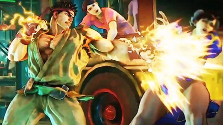 Street Fighter 5 - Gameplay-Trailer: Neues Kampfsystem & Special-Moves