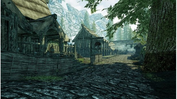<b>The Elder Scrolls 5: Skyrim</b><br>Screenshots vom Nachbau Riverwoods mit der Unreal Engine 4