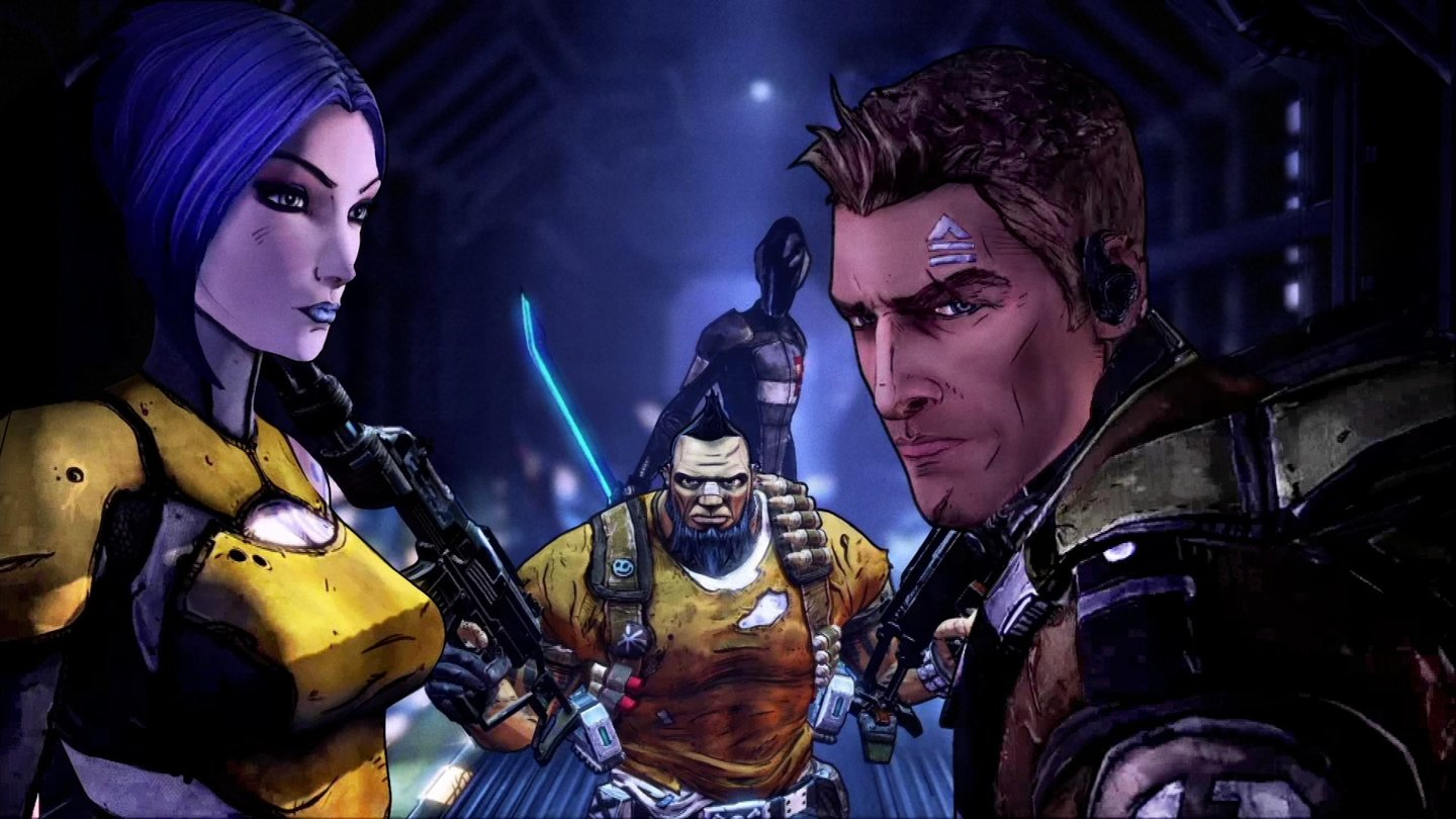Borderlands: The Handsome CollectionDie vier Helden von Borderlands 2: Axton, Maya, Salvador und Zer0.