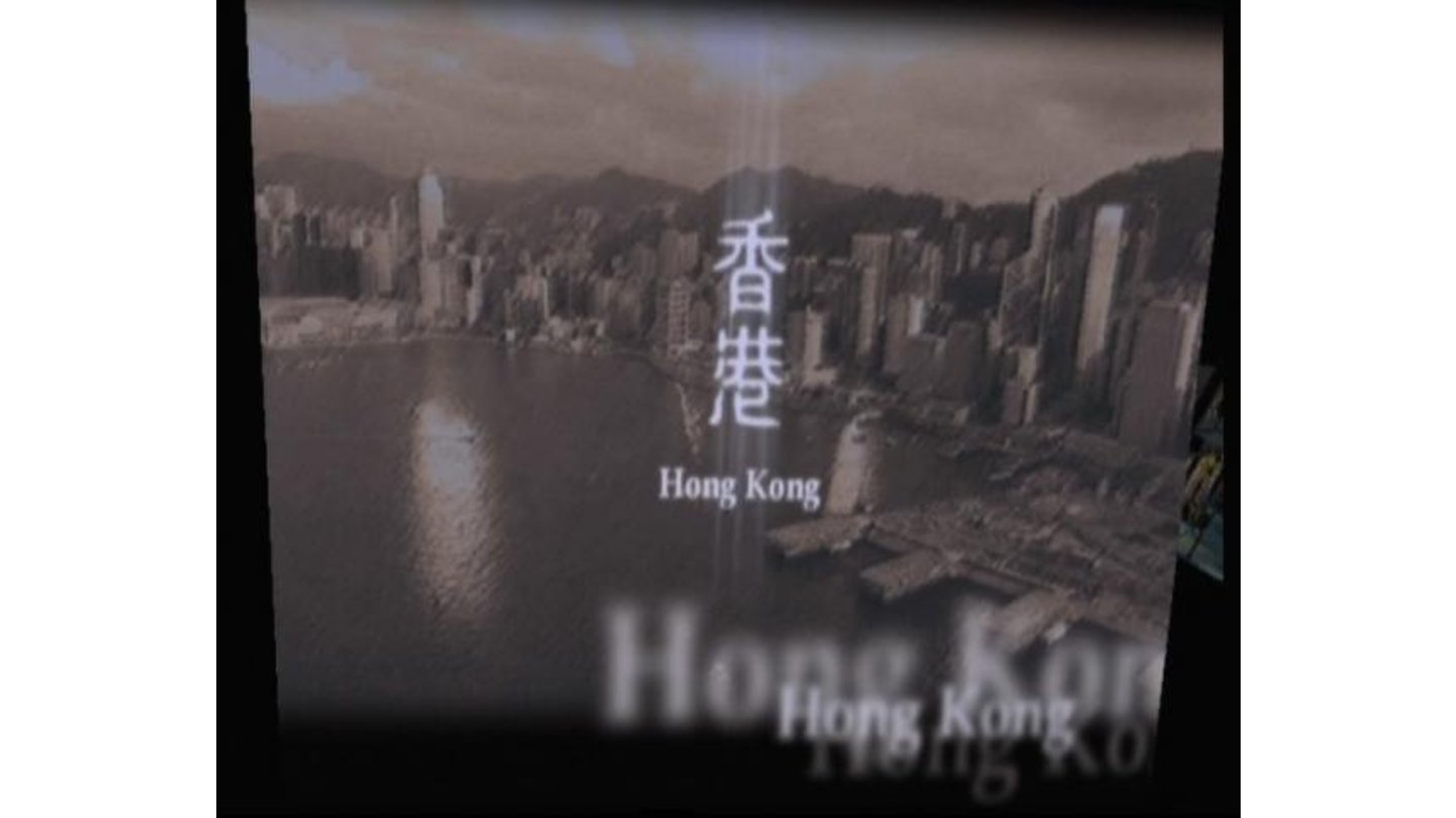 Coming to Hong Kong (the game takes place in several different cities across the globe)