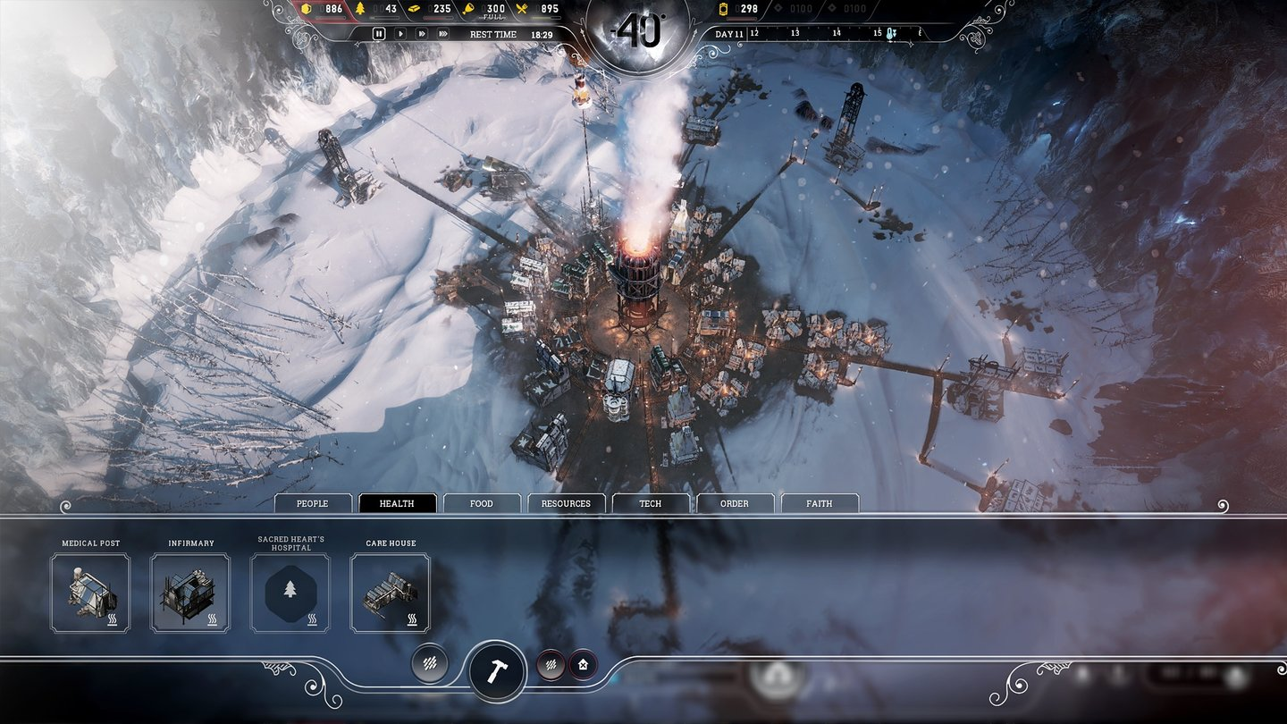 Frostpunk - Screenshots