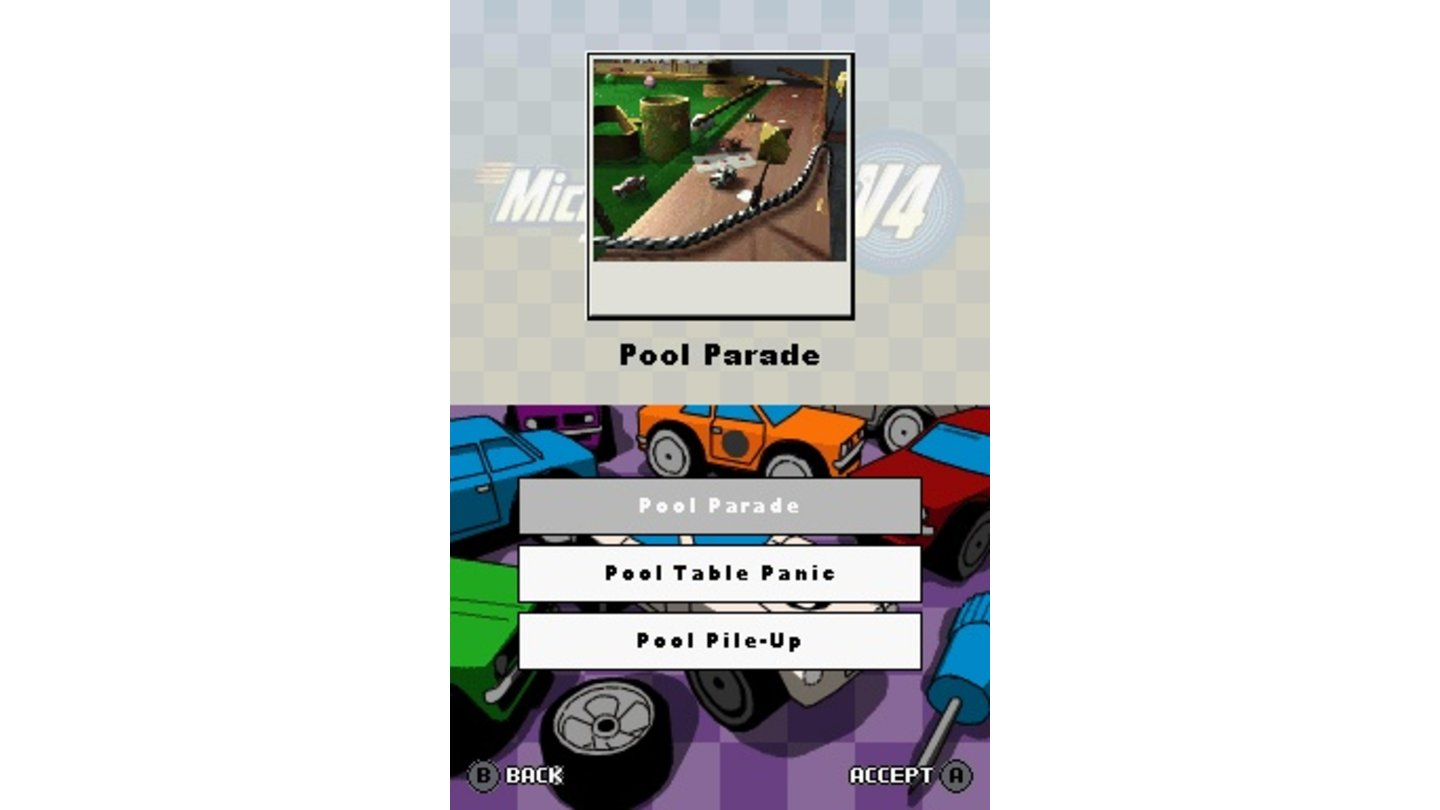 Micro Machines v4 DS 10
