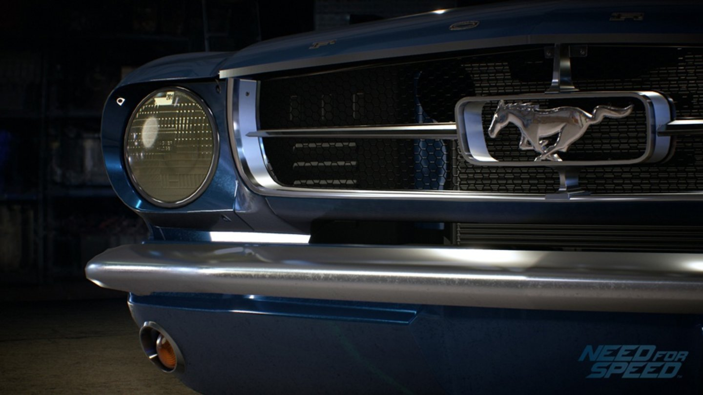 Need for Speed - Screenshots der Fahrzeuge - FORD MUSTANG