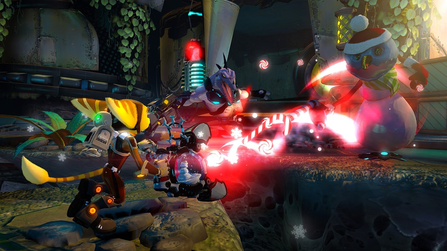 Ratchet & Clank: Into the Nexus - Screenshots von der Gamescom 2013