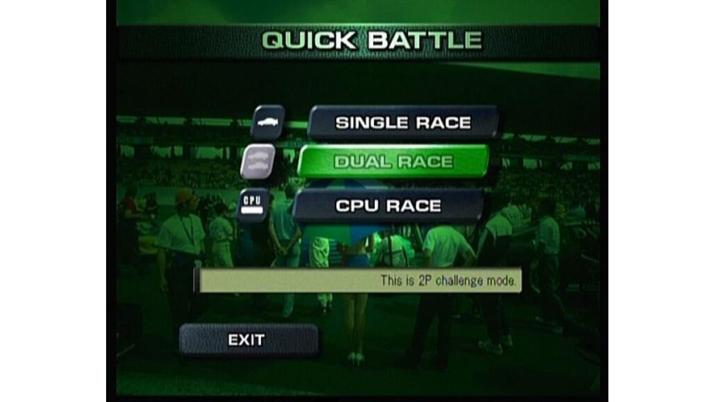 You can also play a quick battle with your friend or a CPU.