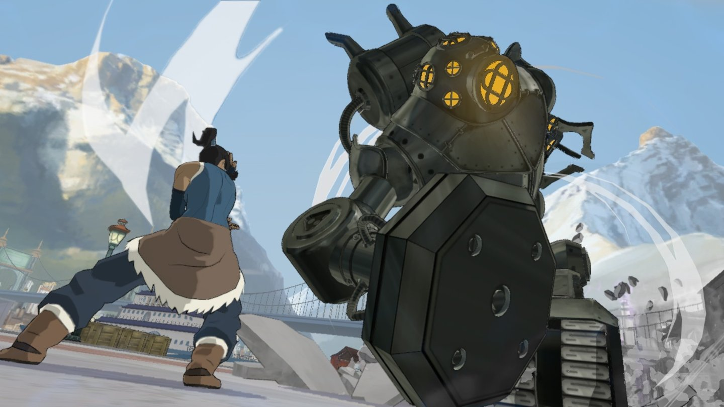 The Legend of Korra - Screenshots