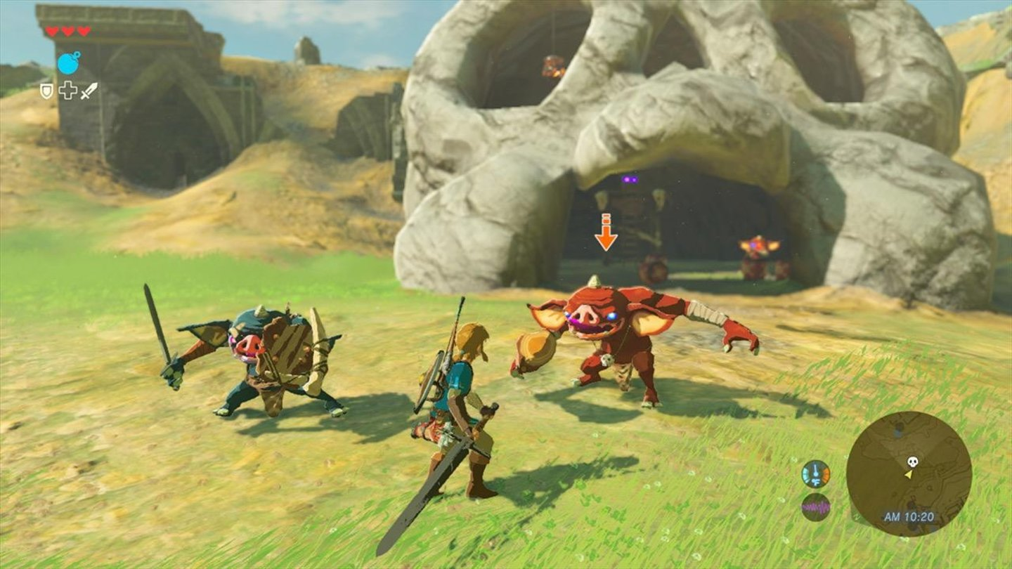 The Legend of Zelda - Breath of the Wild Vorsicht, diese Höhle wird bewacht!
