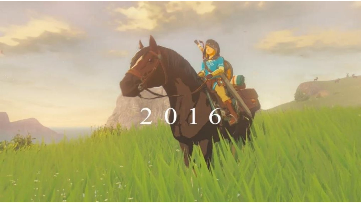 The Legend of Zelda (Wii U)Screenshot von Nintendo Direct 2015
