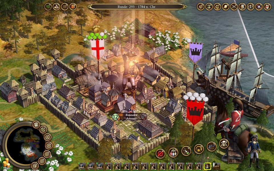 Soren Johnson hat an Civilization 4 mitgewirkt.