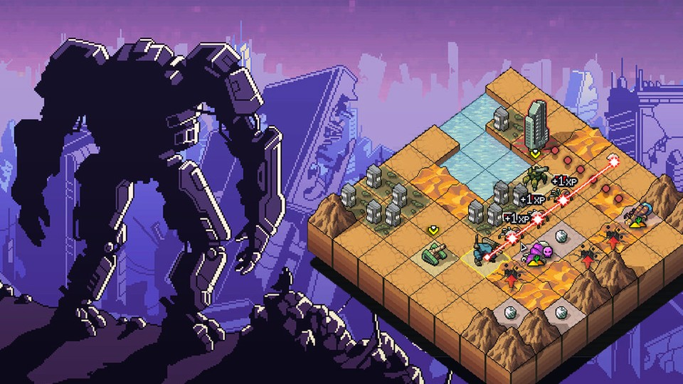 Into the Breach ist ein absolutes Ausnahme-Strategiespiel.