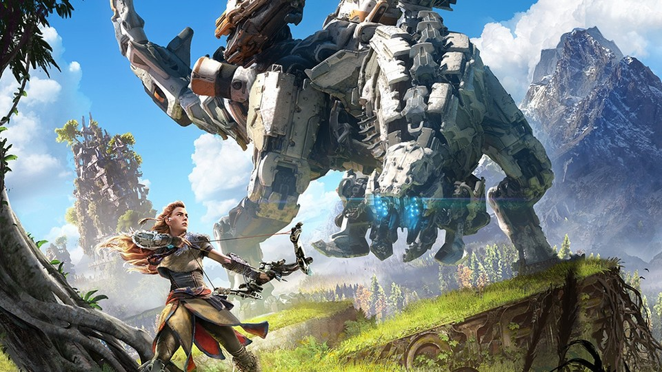 Horizon: Zero Dawn und Frozen Wilds zählen zu Sonys PS4-Highlights.