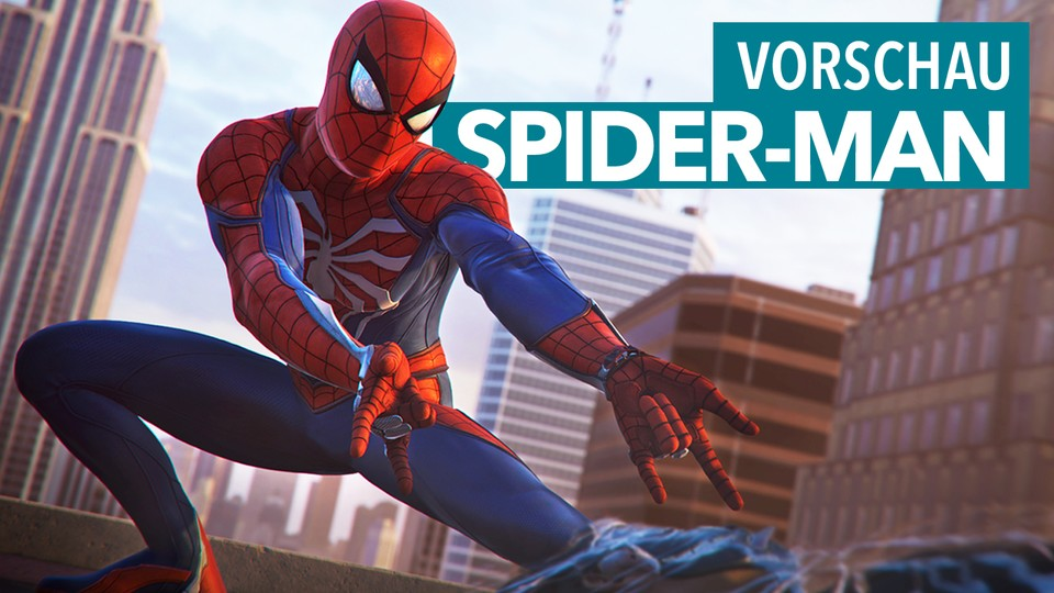 Spider-Man - Preview-Video zum PS4-exklusiven Action-Rollenspiel