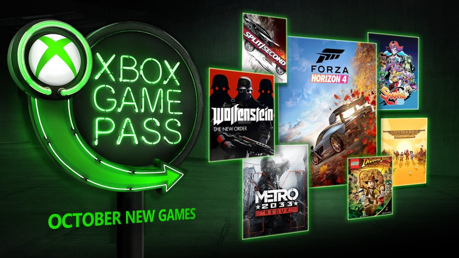 Xbox Game Pass: Alle Games im Oktober