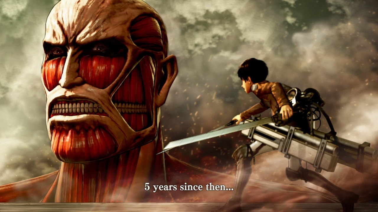 Aot Wings Of Freedom Im Test Ein Schlag Ins Genick Gamepro Sony Ps4 Attack On Titan