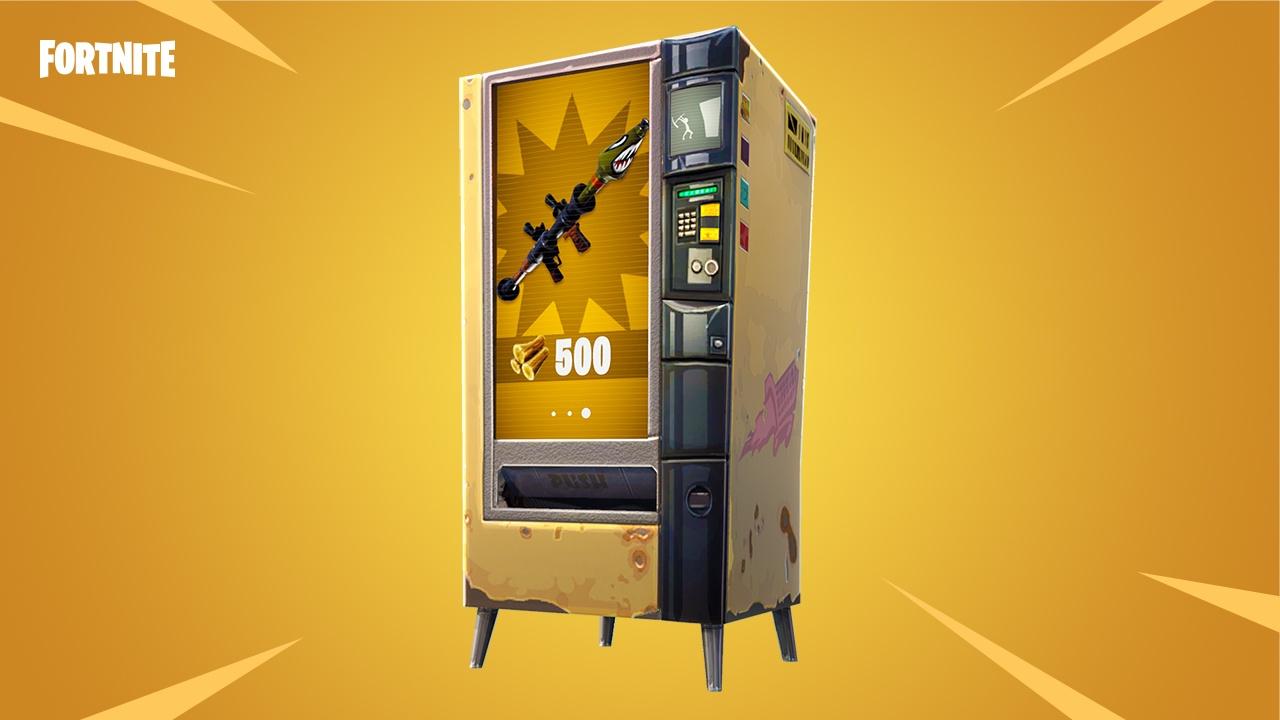 Fortnite Vending Machines Fundorte Der Automaten Auf Der Karte
