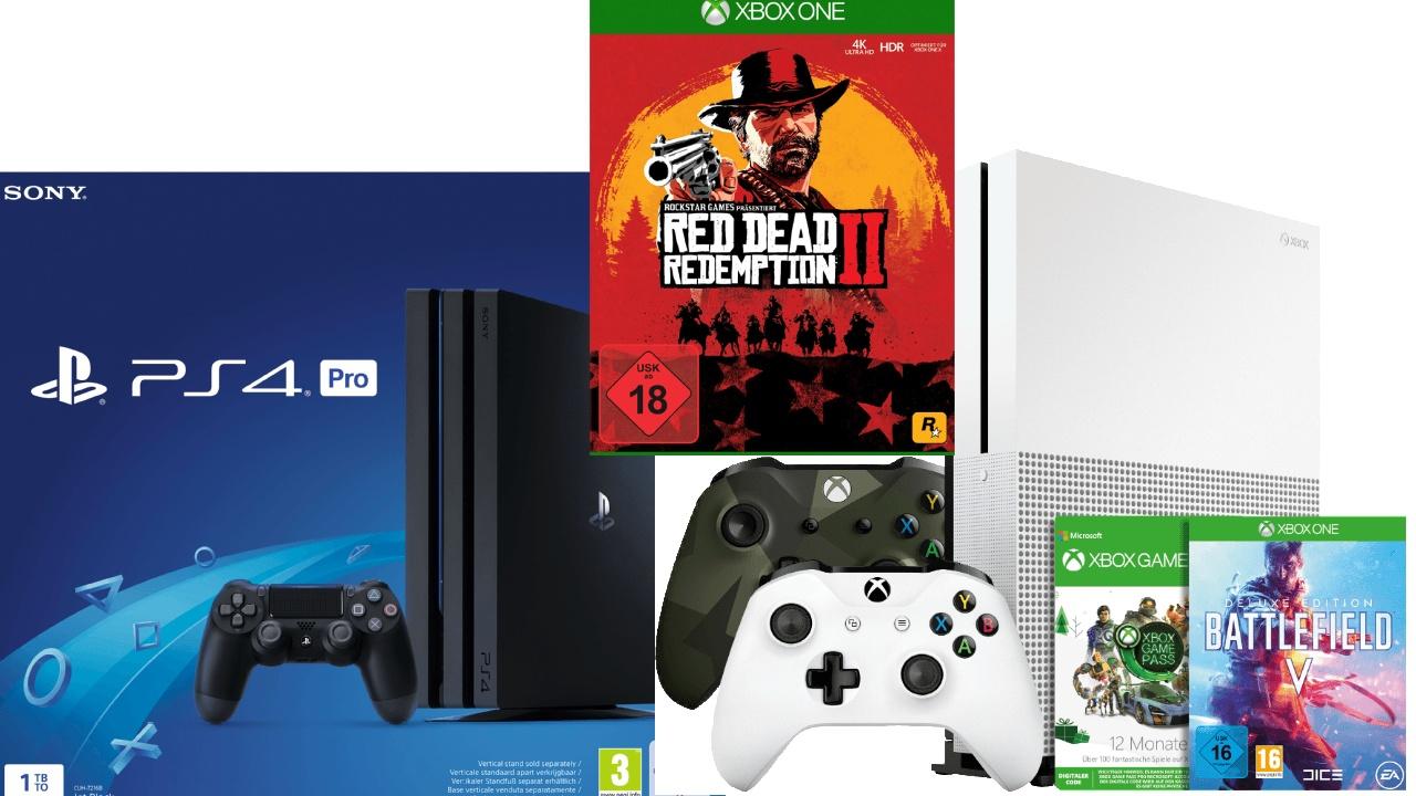 Günstige Ps4 Pro Psvr Und Xbox One Bundles Und Spiele Deals