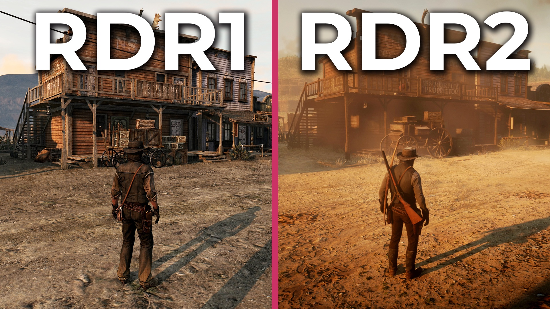 Red Dead Redemption 1 gegen 2 - Krasse Weiterentwicklung beim direkten  Vergleich?